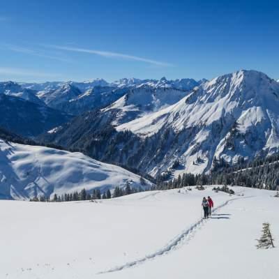 Schneeschuhwandern Bregenzerwald 2017